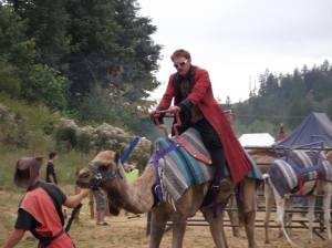 Camel, Reverend Doctor on Camel, Reverends on camels, doctors on camels, reverend doctors on camels, crazy people on camels, rennaissance camel, victorian time travel camel, riding a fucking camel