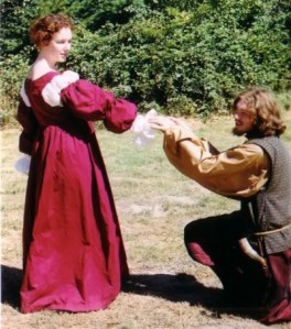 My long hair is conducive to courtly love.