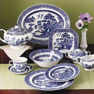 And was cross when I correctly identified the china pattern he pretended to sell.