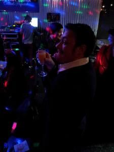 Tyler Drinking
