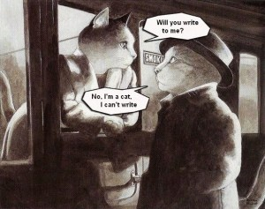 Cat trains