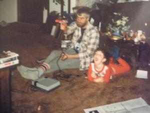 Dad and I Nintendo