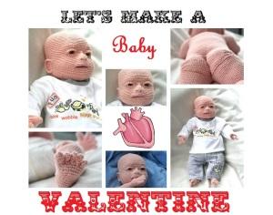 Crochet Baby Valentine
