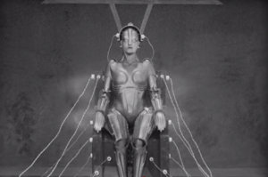 The Iconic Image of the Machine Man from Metropolis