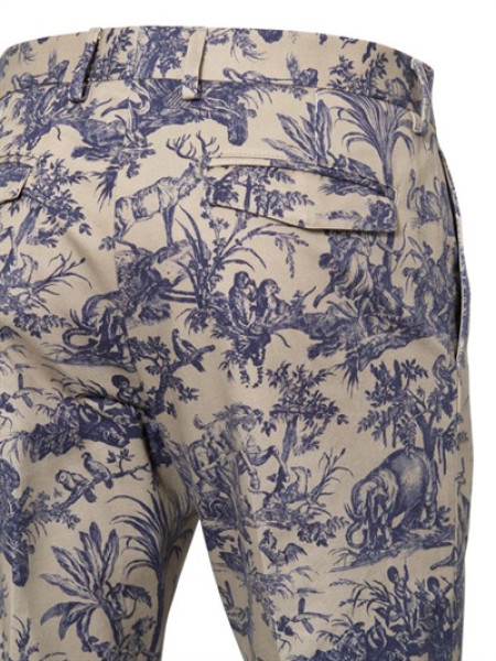 This is what toile looks like, Gentlefolk. Get comfortable with it.