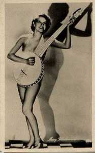 Perhaps she plays the banjo!