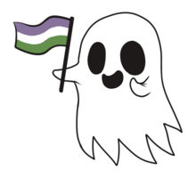 genderqueer Ghost friend