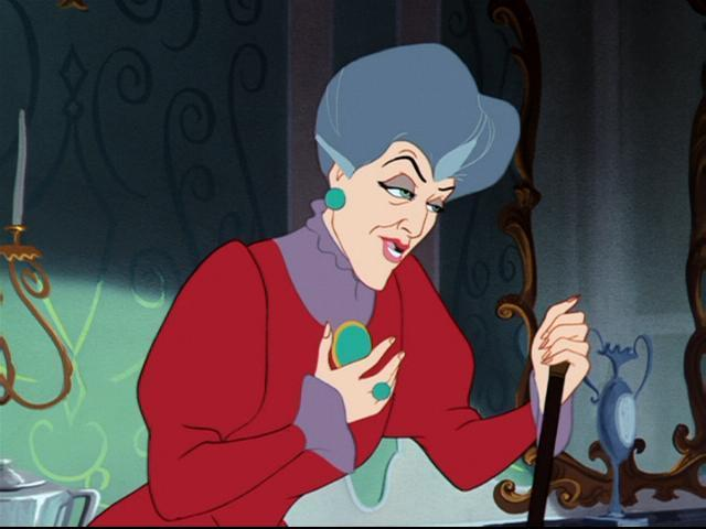 Lady Tremaine knows it's all about *tone*