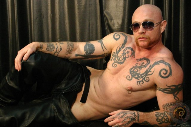 Buck Angel: An American trans man who produces and performs in adult film, and is rather famous for it, actually